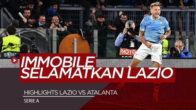 Berita Video Highlighs Serie A, Lazio Sukses Comeback Saat Hadapi Atalanta 3-3