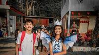 Seorang Pria Menjahit Gaun Prom Untuk Adiknya, Hasilnya Bikin Decak Kagum. Sumber: Facebook/Maverick Francisco Oyao.