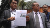 Pengacara dokter Roboah Khairani Hasibuan alias Ani, Amin Fahrudin dan Slamet Hasan di Ditreskimsus Polda Metro Jaya, Jumat (17/5/2019).(Merdeka.com/Ronald)