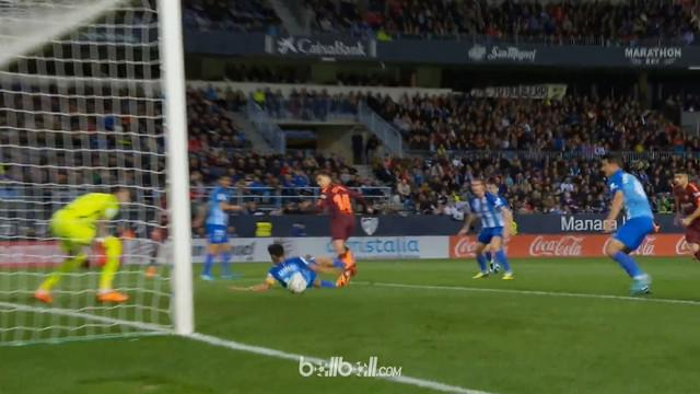 Berita video momen gol indah Philippe Coutinho untuk Barcelona ke gawang Malaga dengan backheel. This video presented by BallBall.
