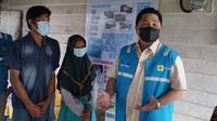 Menteri BUMN Erick Thohir meresmikan penyalaan listrik dalam bantuan penyambungan listrik tanpa biaya untuk 500 rumah tangga di Palembang (dok: PLN)