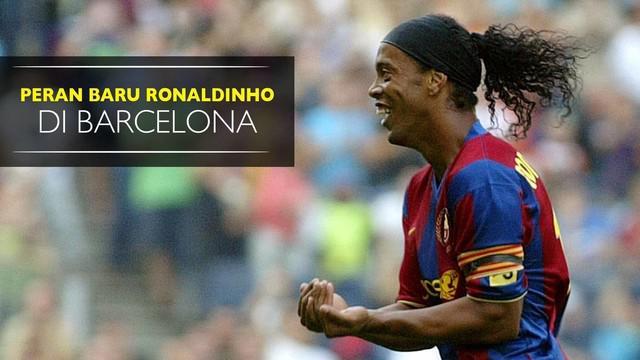 Video Ronaldinho yang memiliki peran baru untuk raksasa Katalan tersebut, apakah peran tersebut?