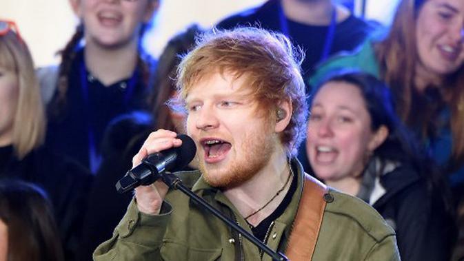 Tak Makan Sembarangan, Ed Sheeran Bawa Chef Pribadi saat Konser di Indonesia