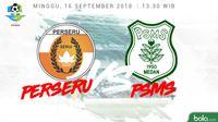 Liga 1 2018 Perseru Serui Vs PSMS Medan (Bola.com/Adreanus Titus)