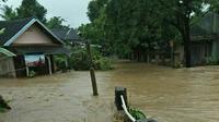 Banjir Bandang Cianjur (Liputan6.com/Achmad Sudarno)