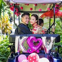 Ken Zhu menggelar pesta pernikahannya di Bali, pada Sabtu, 3 September 2016. (Instagram)