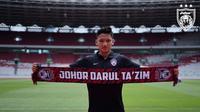 Johor Darul Ta'zim berencana untuk langsung meminjamkan Syahrian Abimanyu ke klub luar negeri karena dianggap sebagai investasi jangka panjang. (dok. Johor Darul Ta'zim)