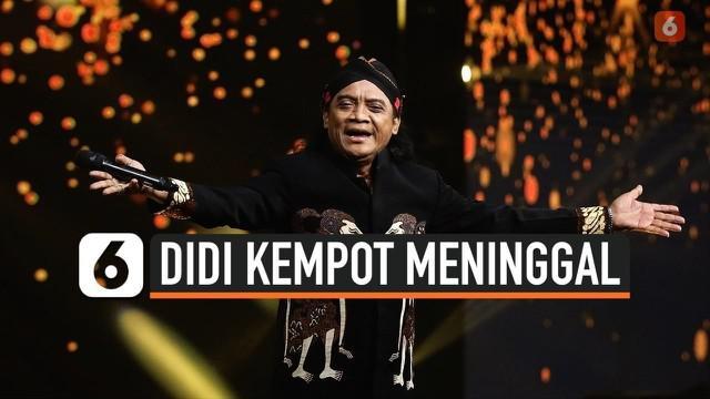 Dunia hiburan tanah air dikejutkan dengan meninggalnya penyanyi campursari Didi Kempot hari Selasa (5/5) pagi. Didi Kempot sempat masuk rumah sakit dalam kondisi tak sadar.