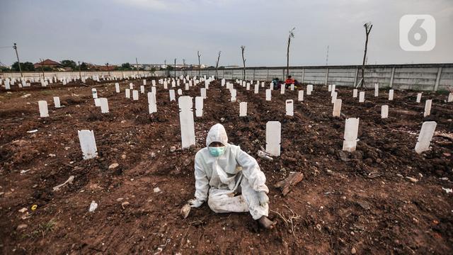 Kematian Akibat COVID-19 di Jakarta Didominasi Warga yang Belum Divaksin -  Global Liputan6.com
