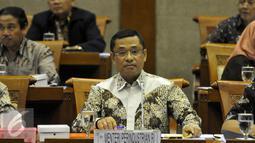 Kementerian Perindustrian menyerap 10,54 persen anggaran hingga 15 April 2016 atau sebesar Rp344,598 miliar dari pagu anggaran Rp3,271 triliun pada APBN 2016, Jakarta, Selasa (19/4). (Liputan6.com/JohanTallo)
