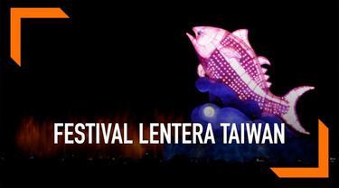 Festival Lentara Taiwan ke-30 diadakan di Kota Pingtung, Taiwan.