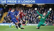 Gelandang muda Chelsea, Mason Mount memperoleh peluang pada pertandingan kontra AFC Bournemouth dalam lanjutan Premier League 2019-2020. (Foto: Chelsea FC)