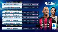Seluruh live streaming pertandingan Liga Italia pekan ke-13 dapat disaksikan melalui platform Vidio. (Vidio)
