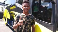 Osvaldo Haay, winger Persebaya dan Timnas Indonesia U-23. (Bola.com/Zaidan Nazarul)