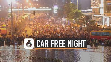 Car Free Night (CFN) akan berlaku di puncak selama malam tahun baru. Selama 12 jam, mulai pukul 18.00 WIB sampai pukul 06.00 WIB.