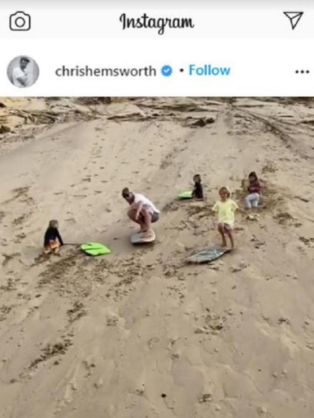 Chris Hemsworth (Foto: Instagram/@chrishemsworth)