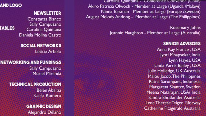6d5fab8ed0 Ada nama Ratna Sarumpaet di Women Playwrights International Conference di  Chile (WPIC Newsletter)