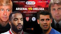 Prediksi Arsenal Vs Chelsea (Liputan6.com/Trie yas)