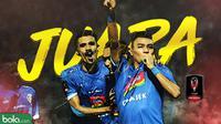 Arema FC Juara Piala Presiden 2019. (Bola.com/Dody Iryawan)