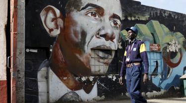Ada Bayi di Kenya Dinamakan Air Force One Obama
