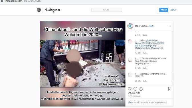 Video yang merekam insiden kekerasan di Indonesia mendunia, tersebar ke negara lain. Sebagai hoaks.