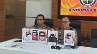 Densus 88 Antiteror Polri menangkap 5 terduga teroris jaringan Jemaah Islamiyah (JI). (Nanda Perdana Putra)
