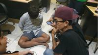 Playboy berinisial A, asal Kabupaten Pandeglang, Banten, menipu tiga wanita sekaligus. (Liputan6.com/Yandhi Deslatama)