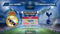 Liga Champions 2017-2018 Real Madrid Vs Tottenham Hotspur (Bola.com/Adreanus Titus)