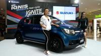 Suzuki Ignis Sport Edition meluncur di Jakarta. (Arief/Liputan6.com)