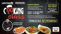 Ikuti cooking class kuliner Betawi Liputan6 x Modena
