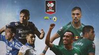 Piala Menpora - Persib Bandung Vs PS Sleman - Duel Antar Lini (Bola.com/Adreanus Titus)