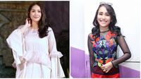 Nagita Slavina-Ayu Ting Ting. (Adrian Putra/Bintang.com)