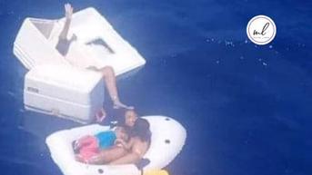 Haru, Ibu Ini Rela Minum Air Seni Demi Selamatkan Anak saat Terdampar di Laut