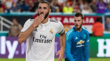 Gol Sanchez dan Herrera Antar MU Kalahkan Real Madrid