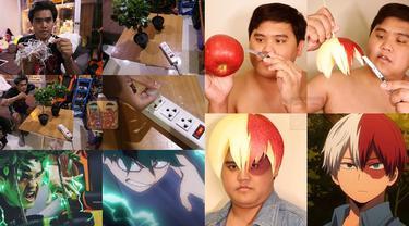 6 Cosplay Low Budget Karakter My Hero Academia Ini Kreatif Sekaligus Kocak