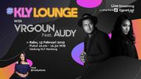 Virgoun feat Audy tampil di acara KLY Lounge, Rabu (13/2/2019) bersama Liputan6.com