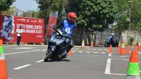Safety Riding Training Center Wahana yang berada di Jatake, Tangerang, Banten.