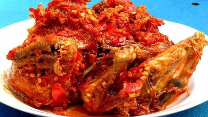 Ayam Balado Copyright Sari Bundo