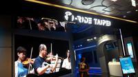 Simulator virtual reality 5D  I-Ride Taipei Experience Center di Taiwan.