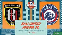 Shopee Liga 1 - Bali United Vs Arema FC (Bola.com/Adreanus Titus)