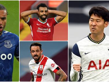 Top Skor Sementara Liga Inggris, Son Heung-Min Saingi Calvert-Lewin di Puncak