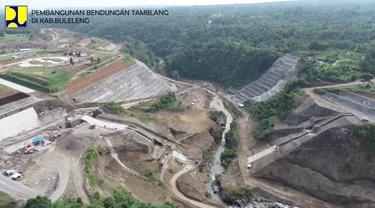 Bendungan Tamblang di Kabupaten Buleleng, Bali (Dok. Kementerian PUPR)