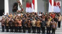 Banner Infografis Wajah Kabinet Indonesia Maju. (Liputan6.com/Triyasni)