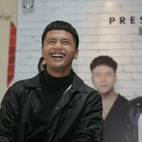 Preskon vokalis baru Nidji (Nurwahyunan/Fimela.com)