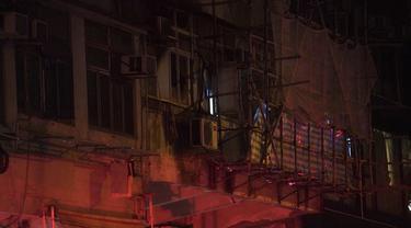 Apartemen di Hong Kong Terbakar, Tujuh Orang Tewas