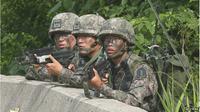 Tentara Korea Selatan. (BBC)