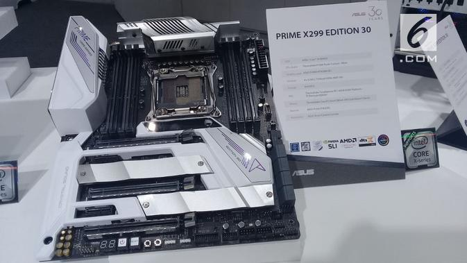 Asus Prime X299 Edition 30. (Liputan6.com/ Maria Flora)