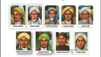 Wali Songo sang penyebar Islam di tanah Jawa memberikan ciri-ciri tertentu manusia yang kembali suci di hari Idul Fitri.