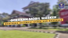 Sejumlah kota di Sulawesi diserbu gerakan mobil masker, diantaranya Manado, Tomohon dan Bitung. Ratusan ribu masker, hand sanitizer dan sabun batang dibagikan ke warga setempat.