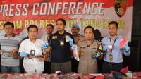 Pedagang jengkol di Kabupaten Tangerang nyambi jadi penjual senpi rakitan.